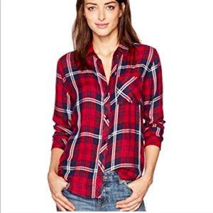 NWT Rails Women's Hunter Plaid Shirt R39